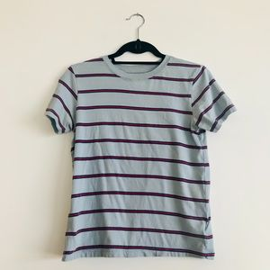 BDG Striped Short-Sleeve Shirt, Size Small